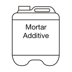 Mortar Additive Tech Dry. In 5L and 20L.